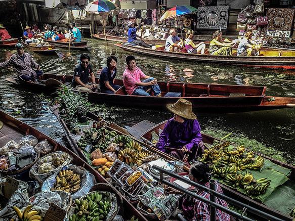canals bangkok-thailand-canals
