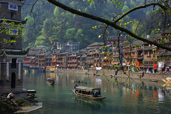 canals fenghuang-china-canals