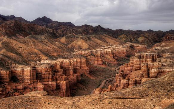 canyons sharyn-canyon-kz