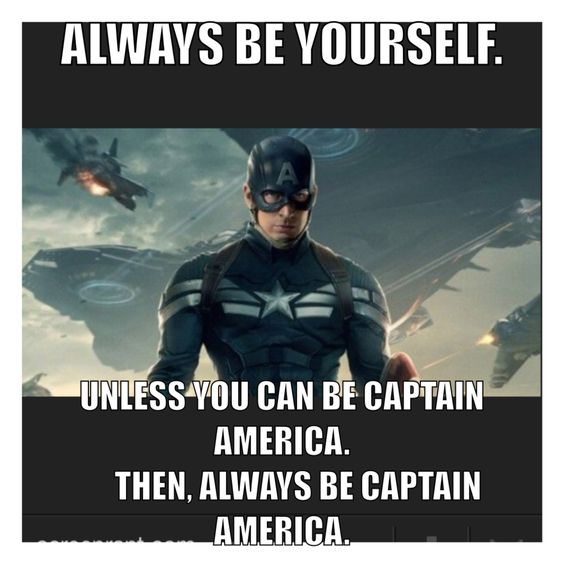 Captain America Meme Old