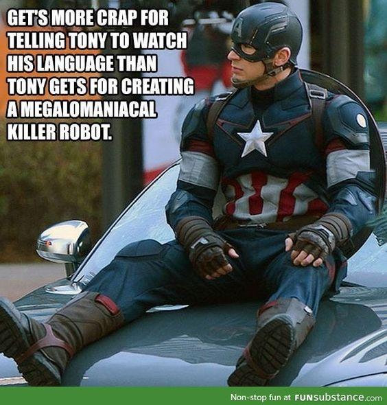 Captain America Rogers Meme