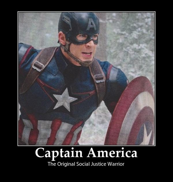 Captain America In Lift Meme
