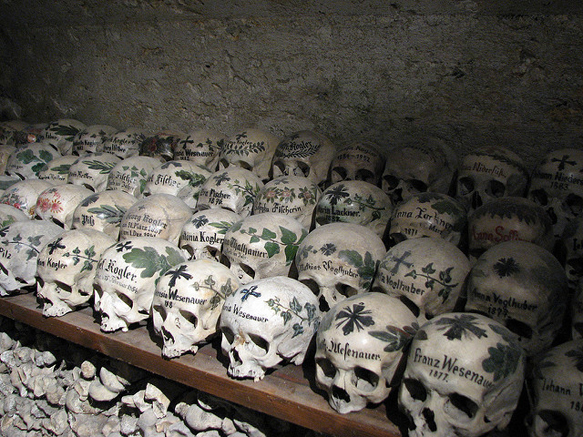 catacombs hallstatt-catholic-church