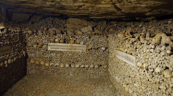 catacombs paris-catacombs