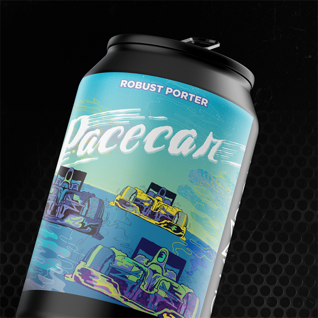 champion-brewing race-car