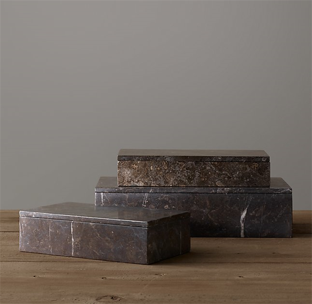 chic-office-decor marble