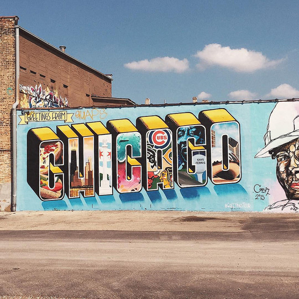 The bucket list 9 instagram worthy chicago photo ops for Chicago mural project