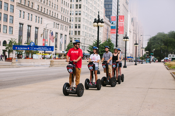 Chicago is an open air museum. Let's explore it together by riding your own Segway while taking our Chicago Lakefront Tour. The Lakefront and the Museum Campus are the frond yard of our picturesque city.