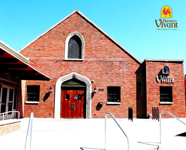 church-beer brewery-vivant