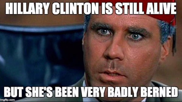 clinton-memes hillary-clinton-badly-berned