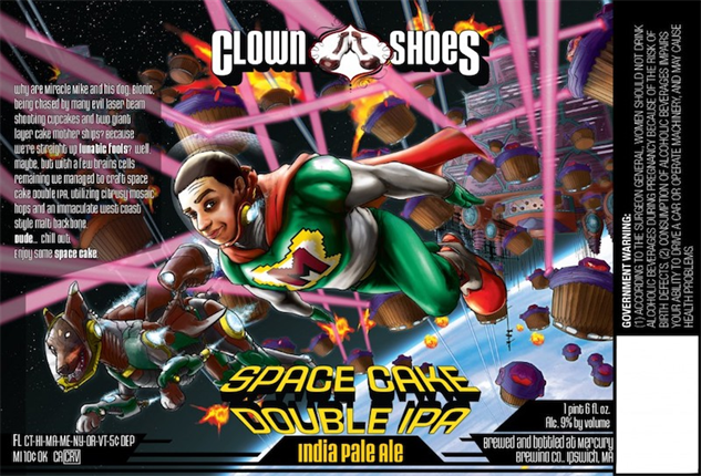 clown-shoes space-cake