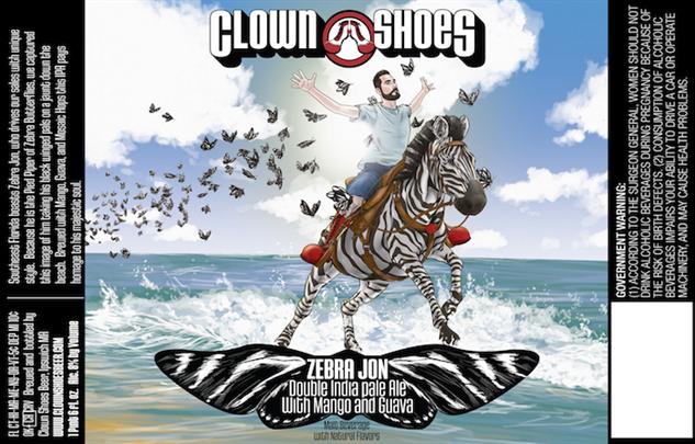 clown-shoes zebra-john