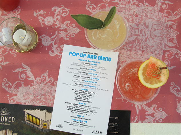 coachella-food 22-kindred-pop-up-bar---photo-by-sara-ventiera