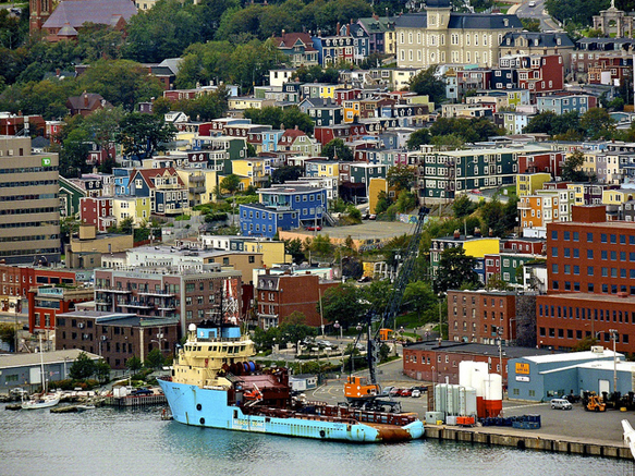 colorful-cities st-johns-newfoundland-colorful