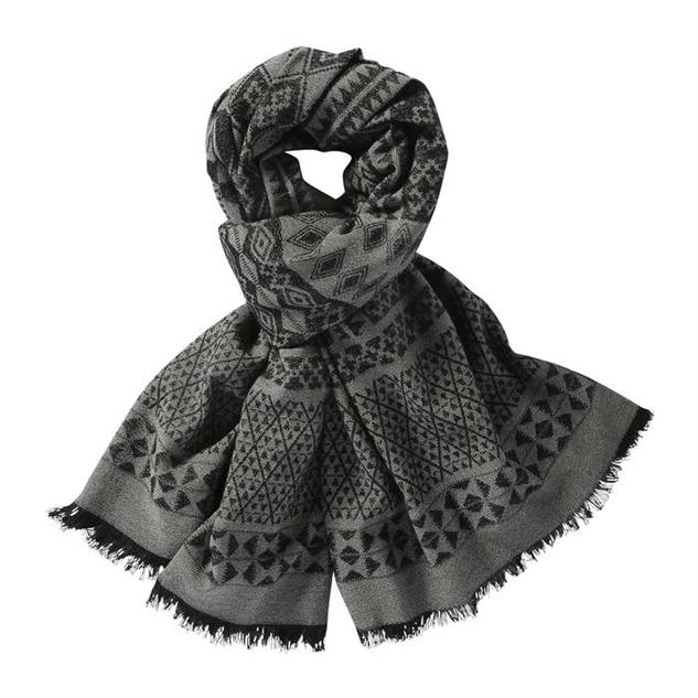 colorful-printed-spring-scarf grey