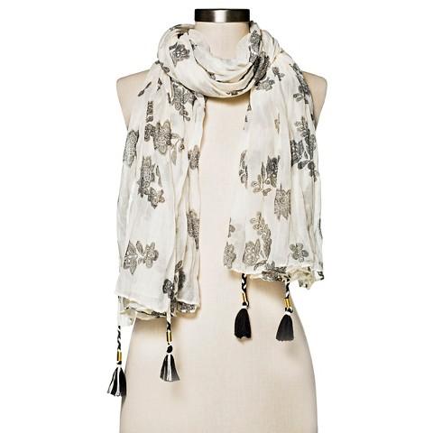 colorful-printed-spring-scarf tassel