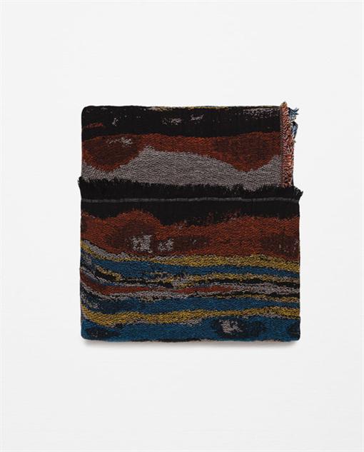colorful-printed-spring-scarf zara