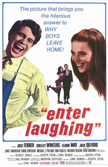 comedian-directorial-debuts enter-laughing-poster