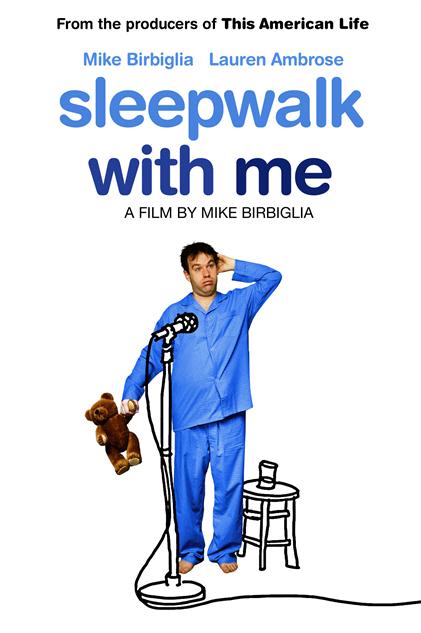 comedian-directorial-debuts sleepwalk-with-me-poster