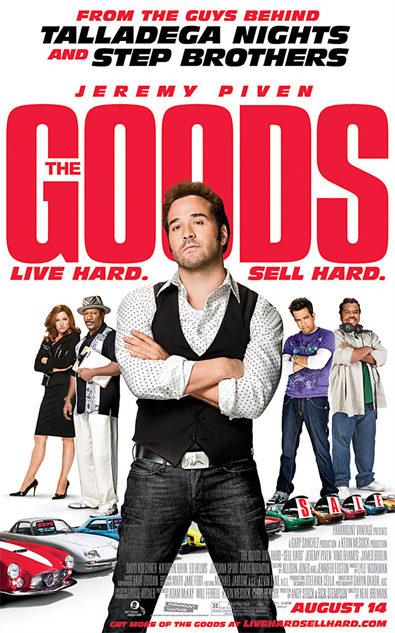 comedian-directorial-debuts the-goods-poster