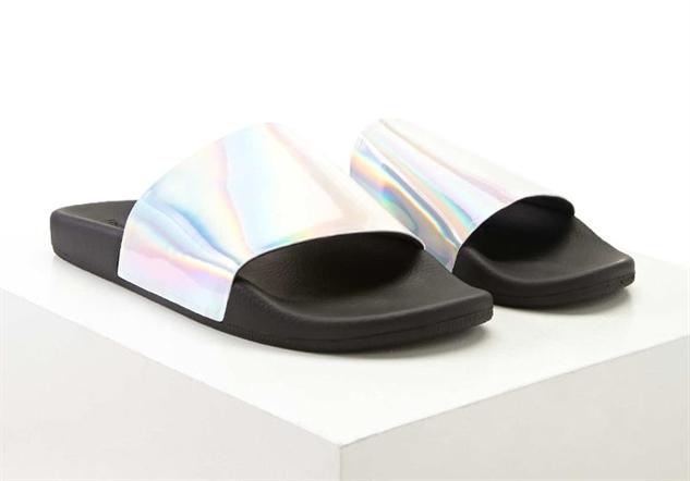 cool-girl-slides metallic