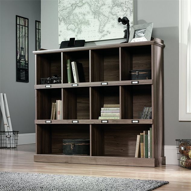 cool-home-bookshelves oak