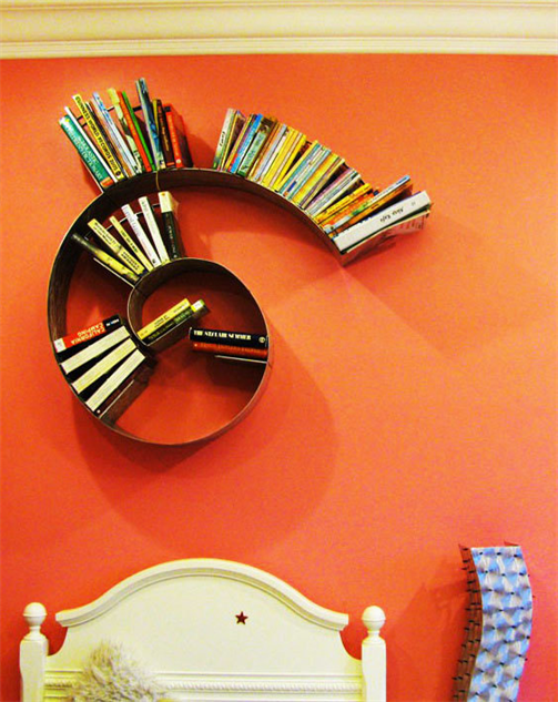 cool-home-bookshelves spiral