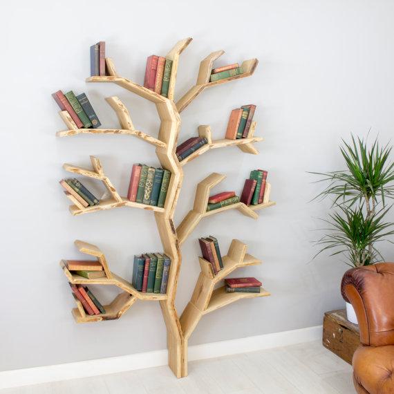 cool-home-bookshelves tree