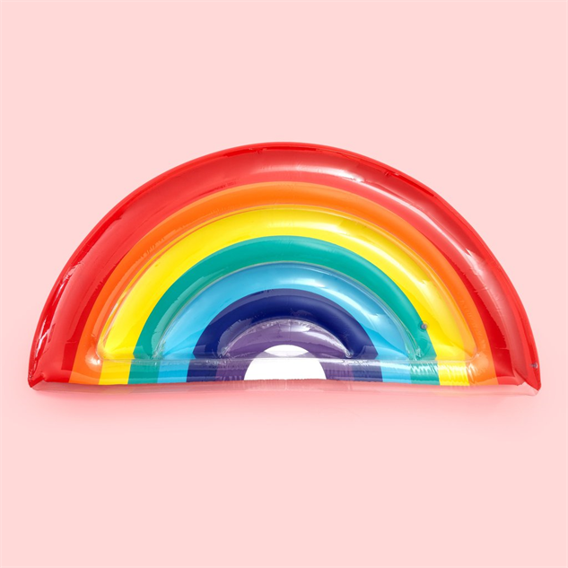 cool-novelty-pool-floats rainbow