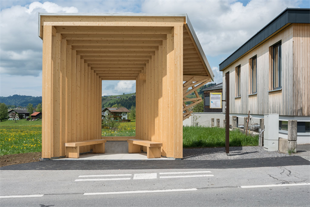 7 of the Coolest Bus Stops on Earth Are in This Tiny Austrian Town