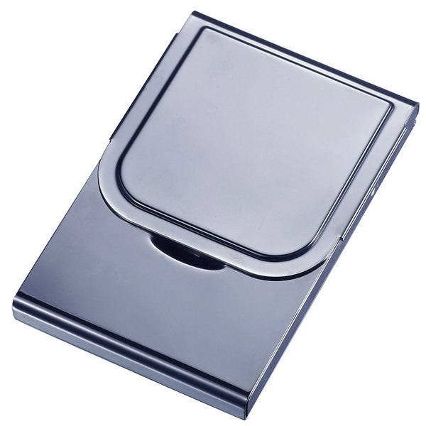 cute-business-card-holders gunmetal