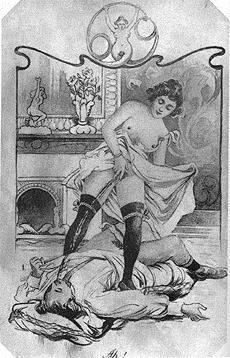 danaes-gs pissing-illustration