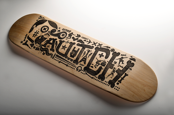 rigours studio deck designs deck 11 gitanos - Skateboard Design Ideas