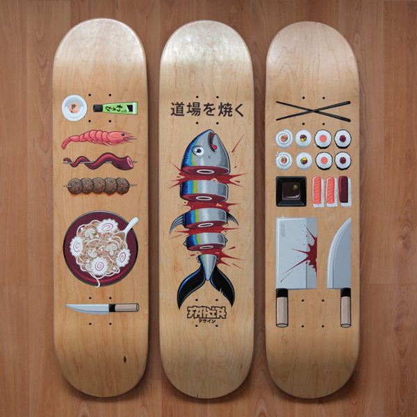 25 of the Best Skateboard Deck Designs :: Design :: Galleries :: Paste