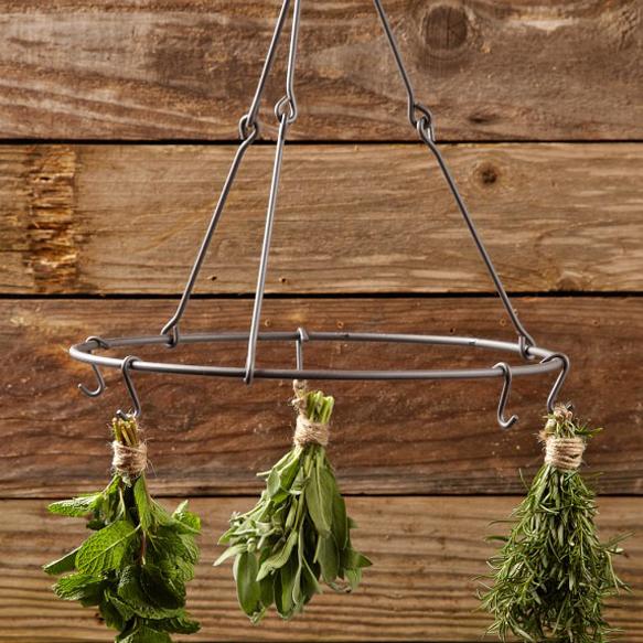 design-gardens herb-drying-rack-williams-sonoma