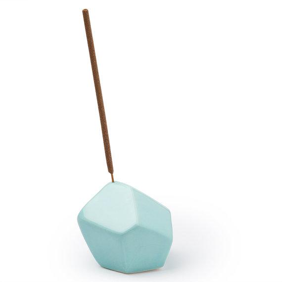 design-incense-burner blue
