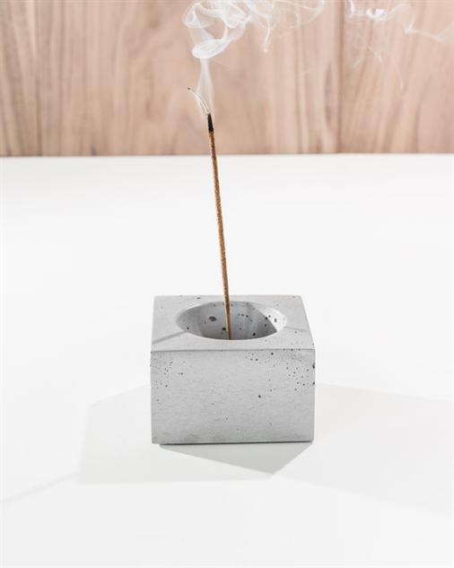 design-incense-burner cement