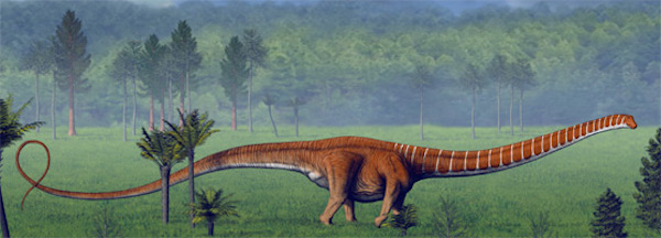 dinosaur-paleoart modern-barosaurs