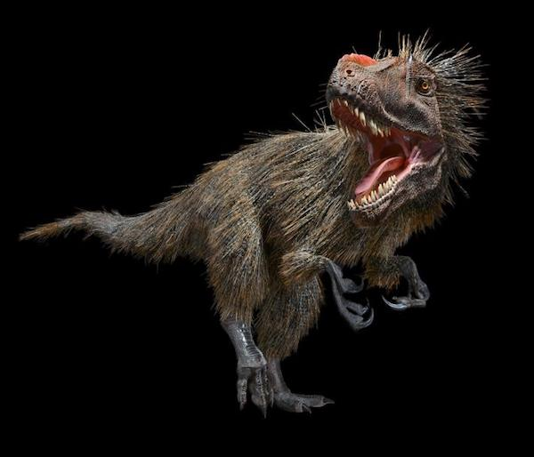 dinosaur-paleoart yutyrannus-huali