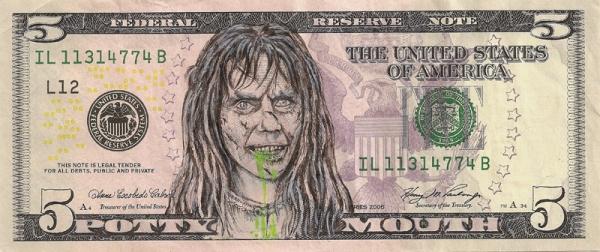 dollar bill doodles turn u s  presidents into pop culture