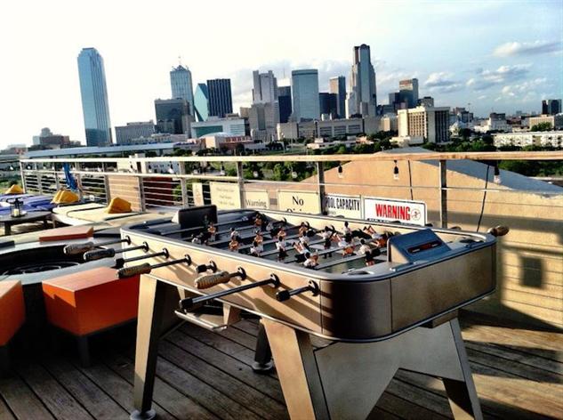 dramatic-rooftop-bars soda-bar-foosball