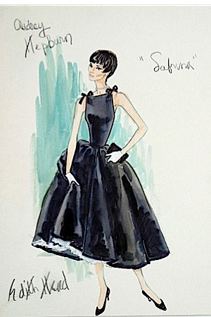 ... edith-head-designs 2a-edith-head-sabrina-sketch ... & The Sketch Artist: 18 Classic Film Costume Designs by Edith Head ...