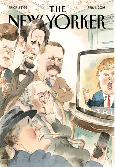 election-magazine-covers new-yorker-presidents