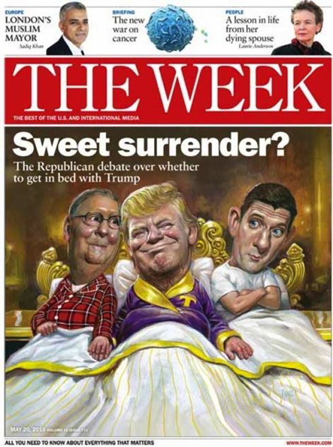 election-magazine-covers the-week-sweet-surrender