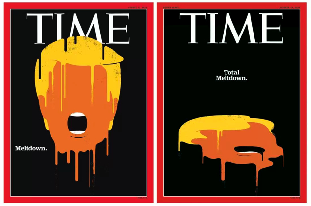 election-magazine-covers time-meltdown
