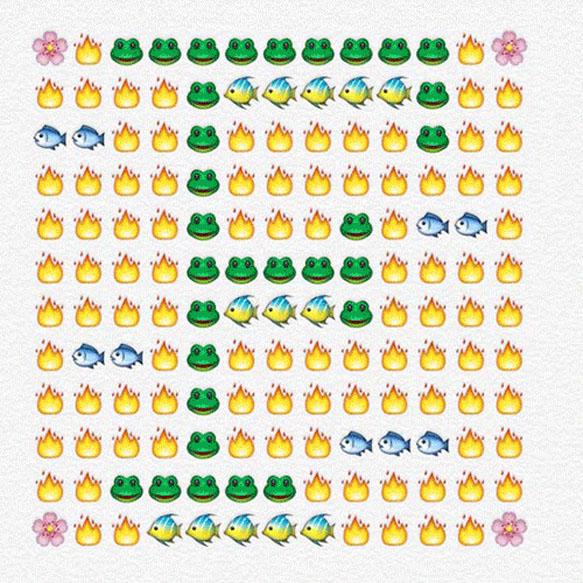 emoji-alphabet f