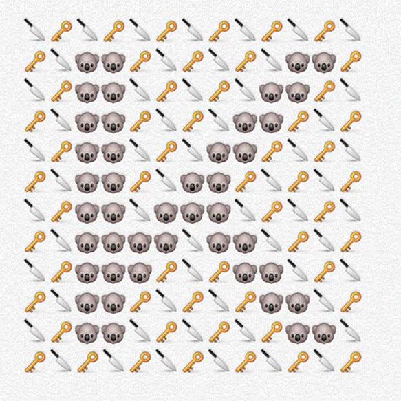 emoji-alphabet k
