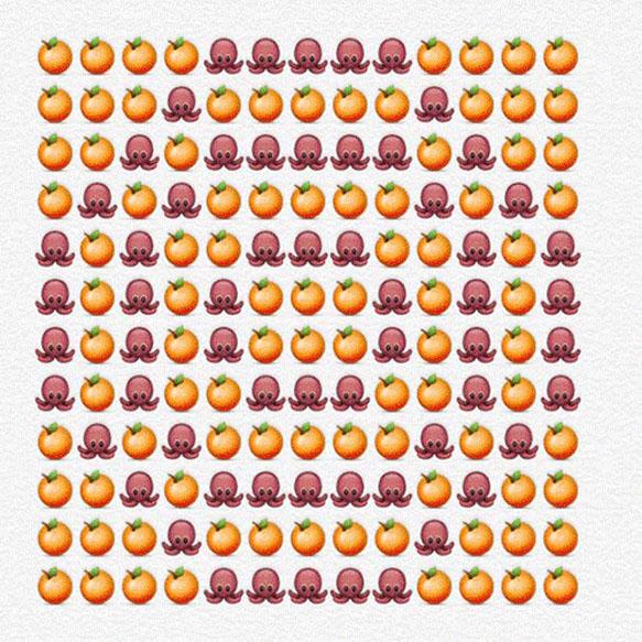 emoji-alphabet o