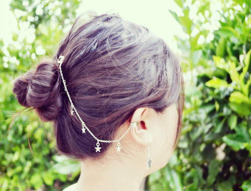 Etsy Earrings Star Hair Clip Ear Cuff Cropped