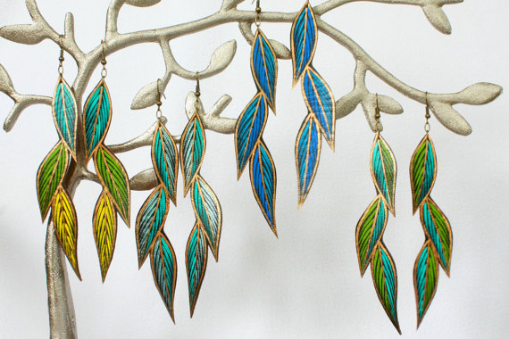etsy-vegan-leather leaf